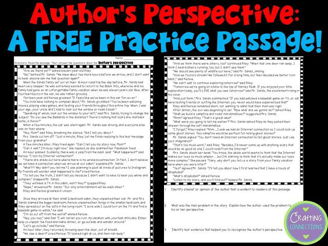 Teaching About Author's Perspective