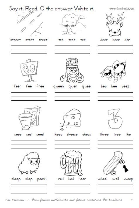 Vowel Diphthong Worksheets And Digraph Worksheets; Printable