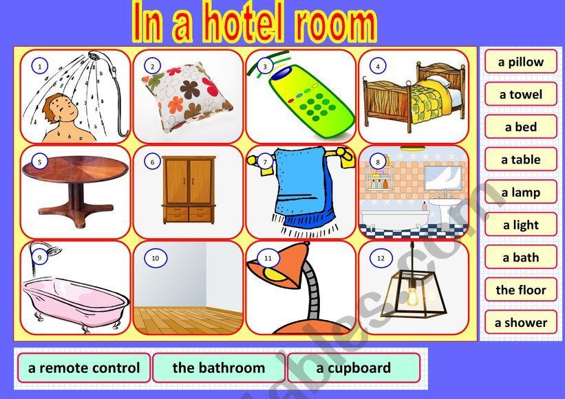 Hotel Vocabulary  Part 1