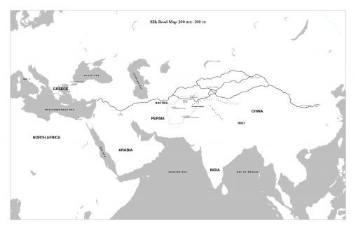 Mapping The Silk Road (lesson)