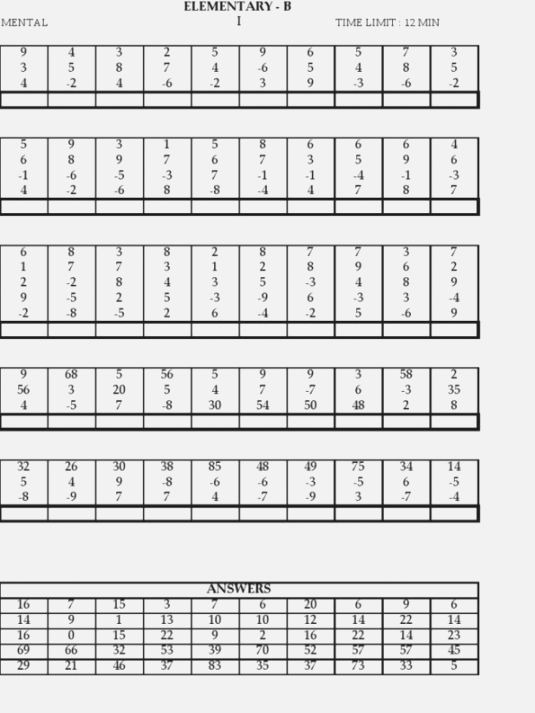 39 Unforgettable Free Printable Abacus Worksheets
