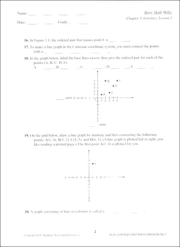 Accelerated Math Worksheets Basic Math Skills Worksheets The Best