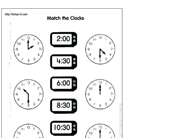 Analogue And Digital Time Worksheets Digital Clock Problem Solving
