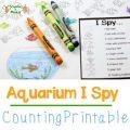 I Spy Worksheets Printable