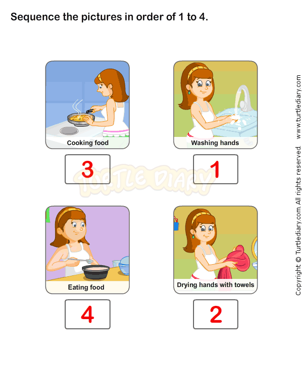 Personal Hygiene Worksheet 1