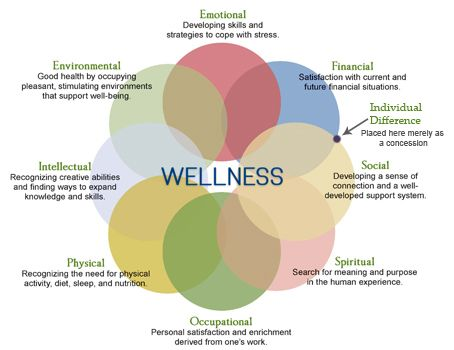8 Dimensions Of Wellness Worksheet