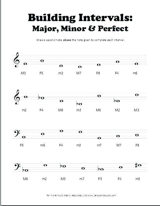 Basic Music Theory Worksheets Free Easy Beginner Guitar Printable