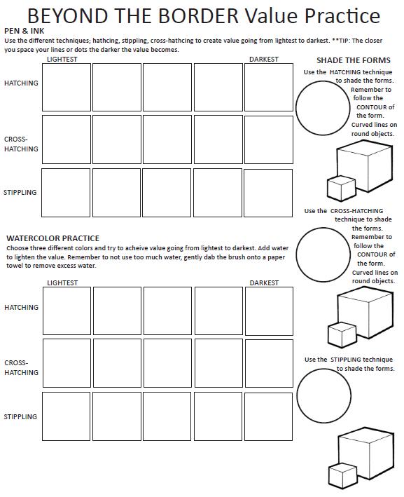 Value Practice Worksheet – Niki Jacob