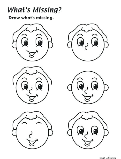 Body Parts For Kids Worksheets Body Parts Worksheet For Preschool