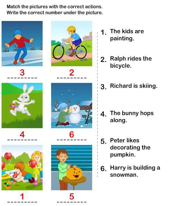 Printables Sentence Comprehension Worksheets 1000 Images About