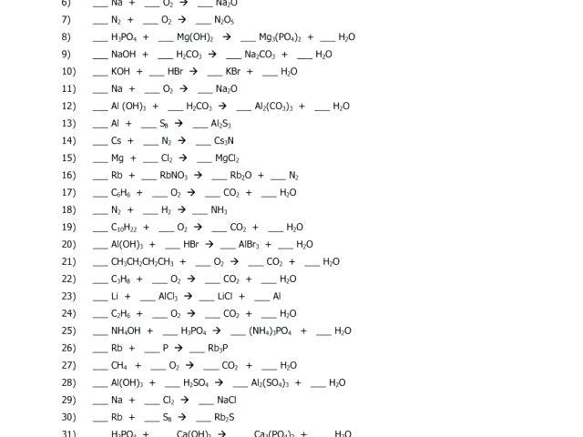 Chemfiesta Worksheet Answers – Myclothdiapers Info