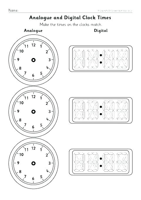 Clock Practice Worksheet Third Grade Time And Seasons Reading
