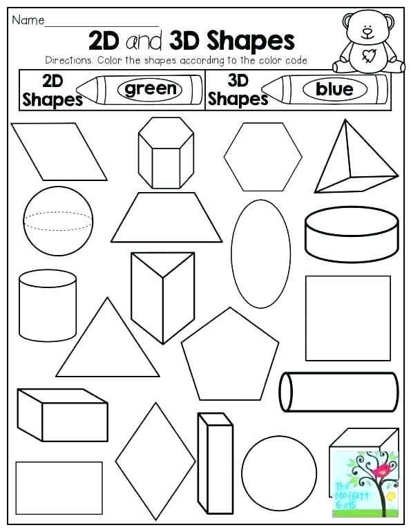 Colors Worksheets For Kindergarten Pdf