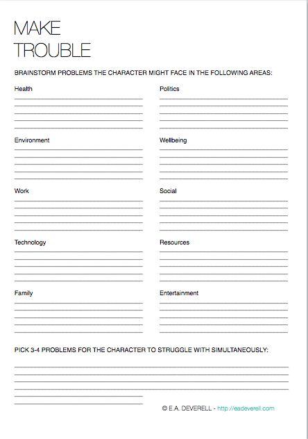 Creative Writing Brainstorming Worksheet 237 Best Writing Ideas