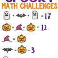Spooky Math Worksheets
