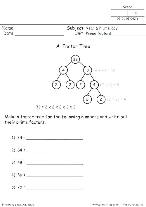 Divisibility Worksheets Rules Worksheet For And Grade 7 4th