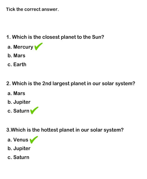 Science Worksheets, Grade