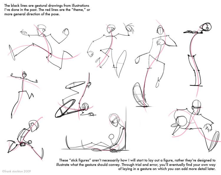 Gallery For   Figure Drawing Proportions Worksheet
