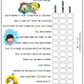 Coping Skill Worksheets