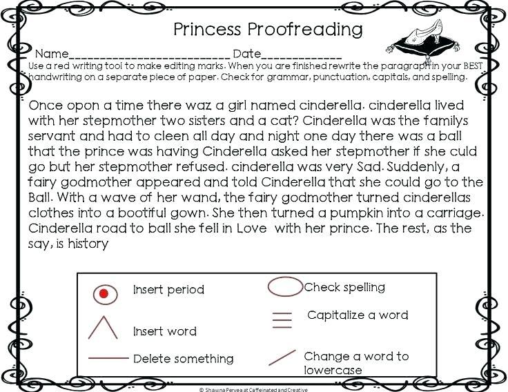 Editing Grammar Worksheets
