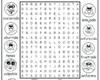 Emotions Worksheets For Preschoolers Feelings And Printable Pdf