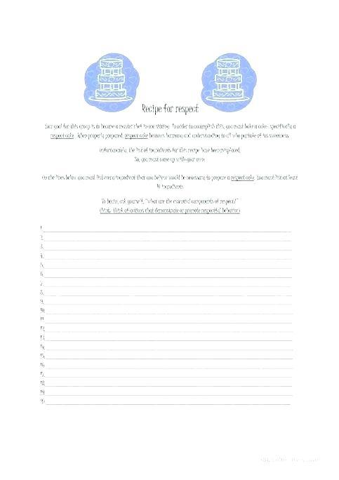 Esl Recipe Worksheets High Esl Recipe Worksheets Pdf
