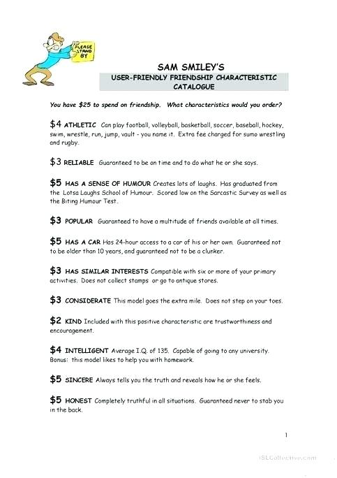 Free Friendship Worksheets Iq Worksheets For Kindergarten Iq