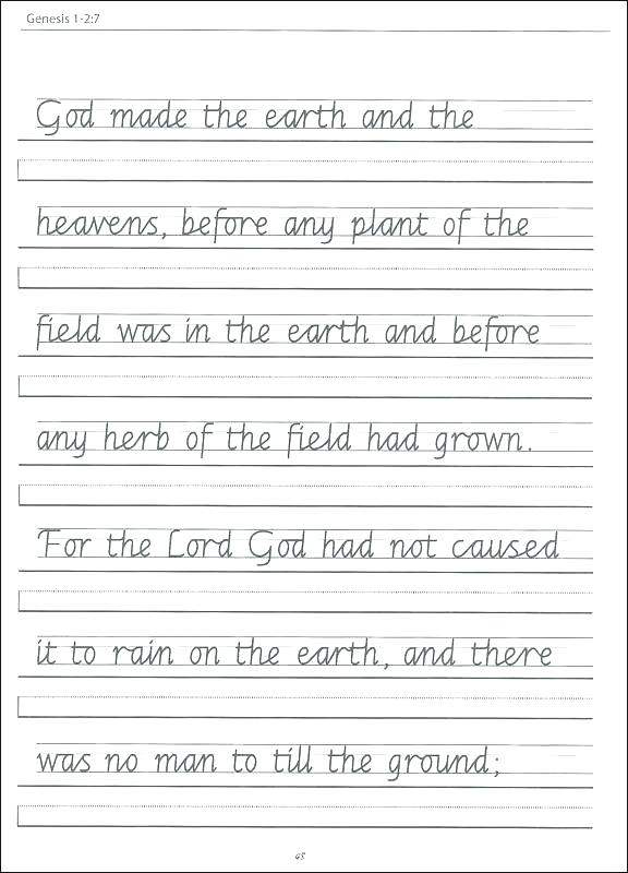 Free Printable Writing Worksheets For Kindergarten