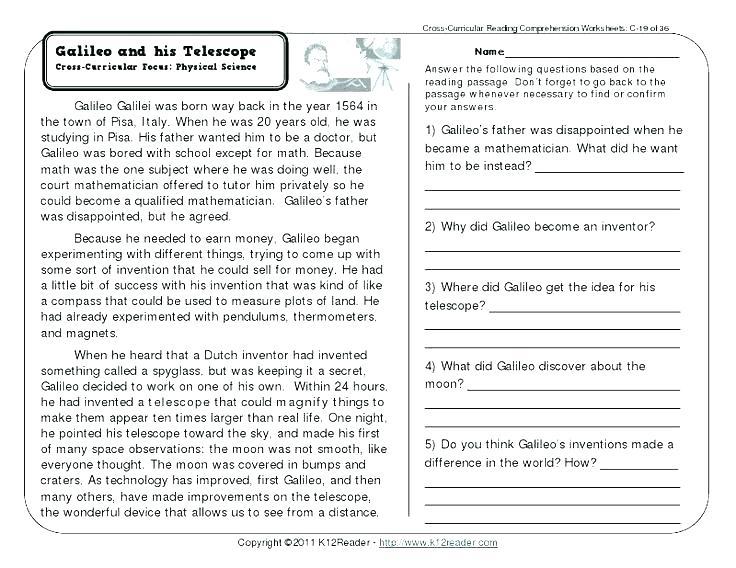 Free Second Grade Reading Worksheets Bingo The Storyteller Reading