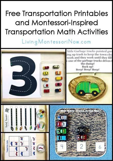 Free Transportation Printables And Montessori