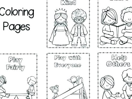 Good Manners Coloring Pages Manners Coloring Page Good Pages