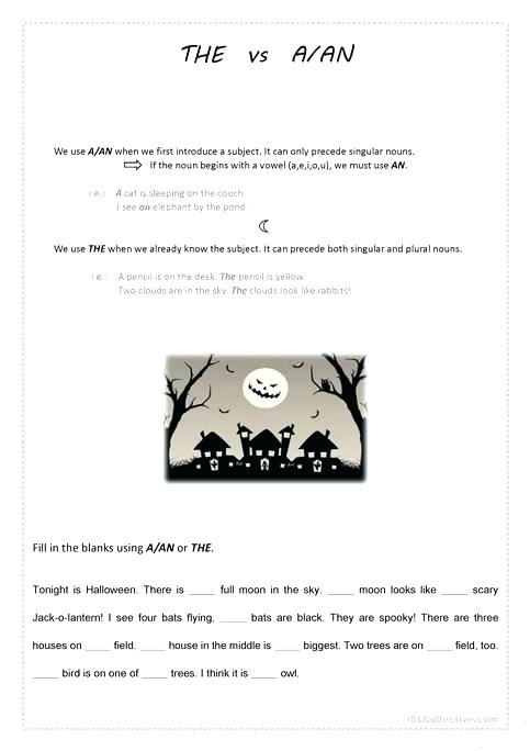 Halloween English Worksheets Collection Halloween Esl Worksheets