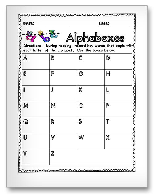 Classroom Activity Worksheets