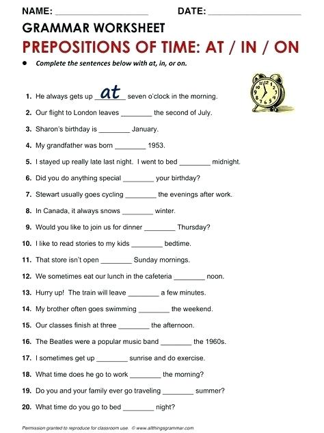 How To Learn English Worksheets Lessons Grammar Basic