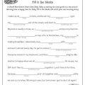 Picture Story Worksheets
