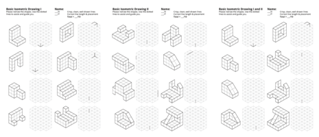 Isometric And Orthographic Drawing Worksheets At Paintingvalley