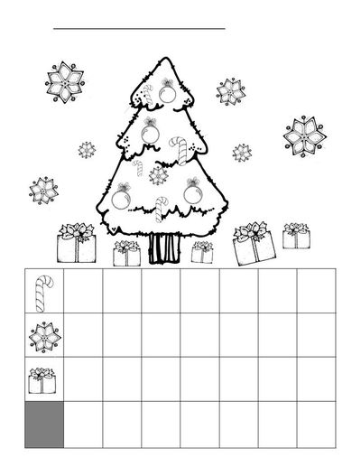 Christmas Graphing Worksheet   Christmas Xmas Ideas