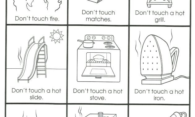 Lesson Plan On My Home For Kindergarten And Safety Worksheets