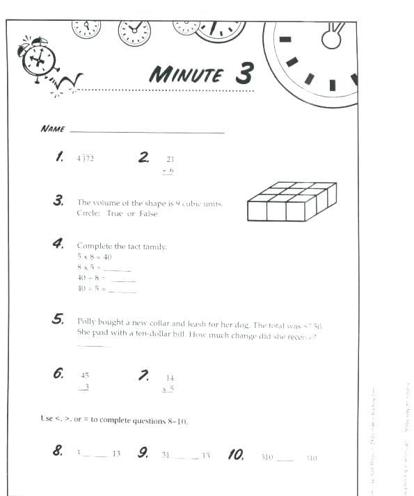 Long Addition Worksheet Mad Minutes Division Worksheets The Best
