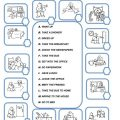 Daily Routines Worksheets