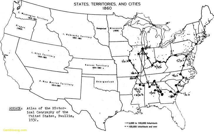 Civil War Map Worksheet