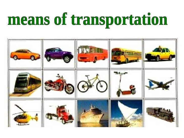 Means Of Transport Worksheet For Class 5