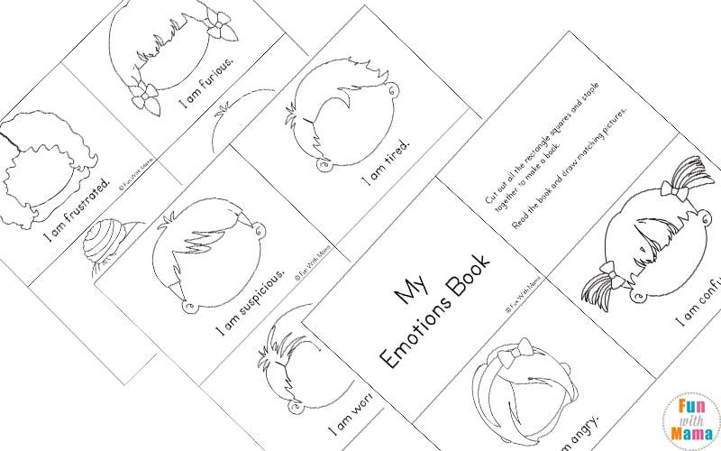 Feelings Activities + Emotions Worksheets For Kids