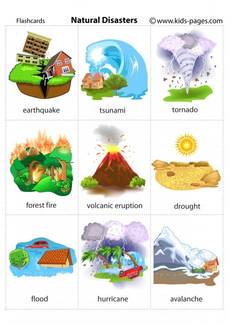 Natural Disaster Games For Kids