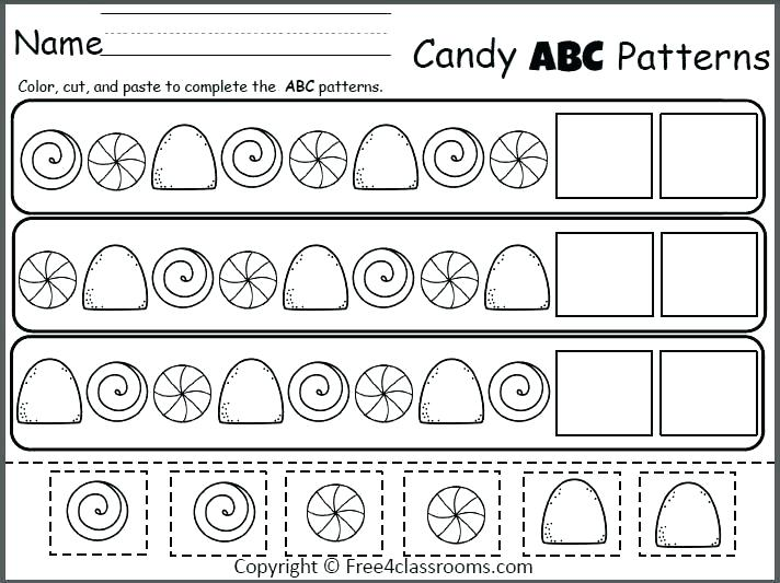 Pattern Worksheets For Preschool Math – Mymaui Club