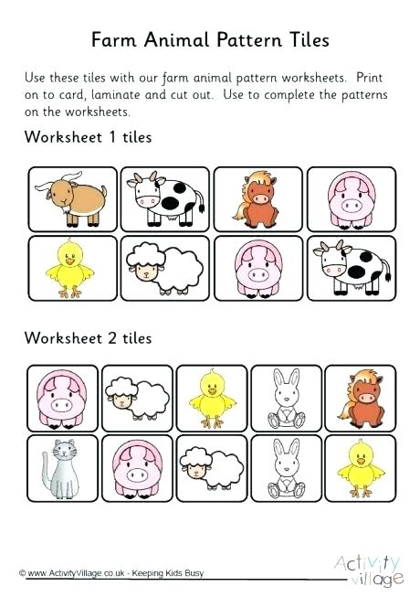 Patterns Worksheet 1st Grade – Untime Club