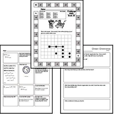 Free First Grade Pdf Math Worksheets