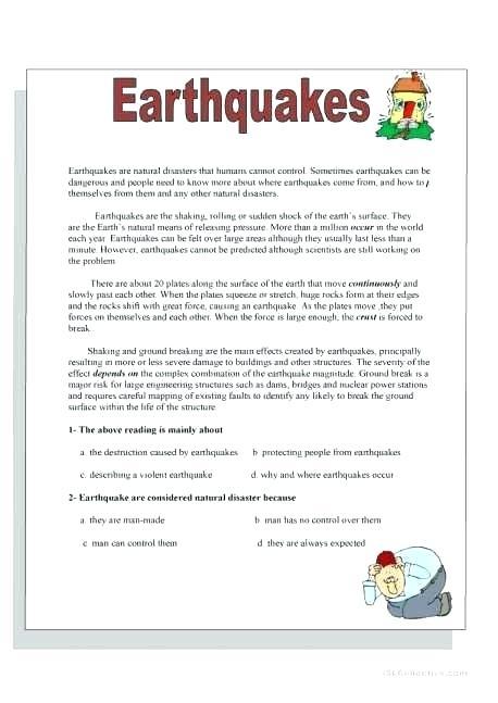 Pre Reading Skills Worksheets Reading Comprehension 1 Worksheets