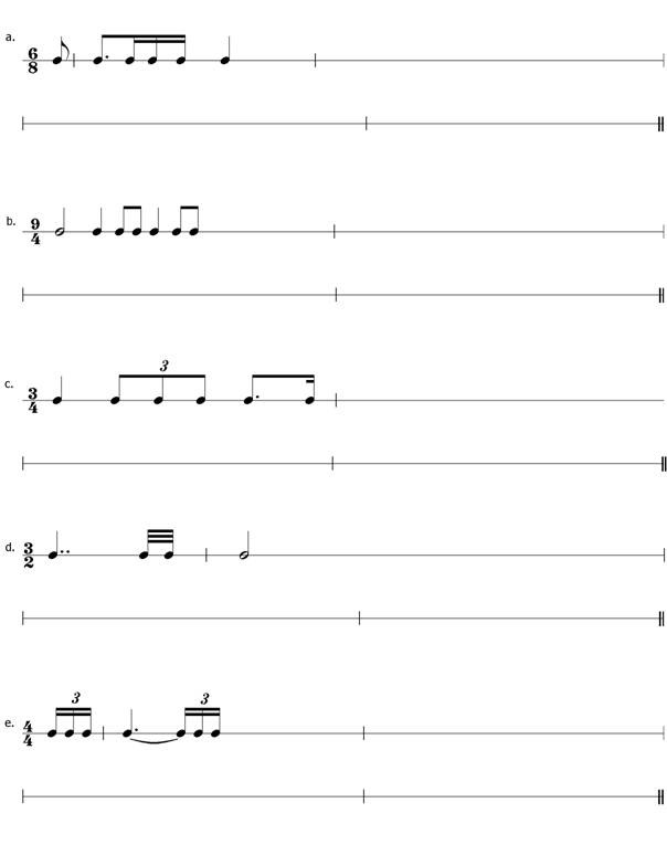 10  Writing A Rhythm Exercises