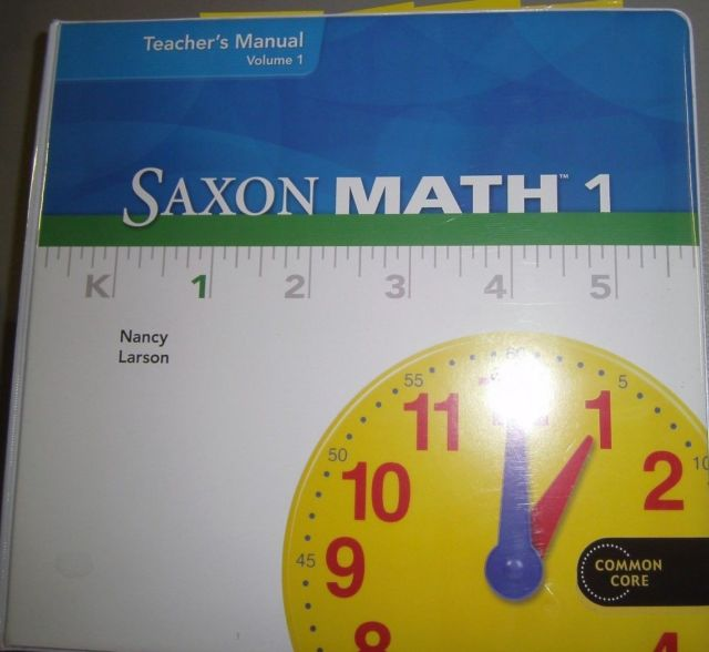 Saxon Math 1 Worksheets For California Common Core & Flash Cards